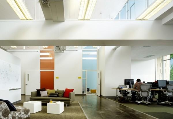 Les nouveaux bureaux de facebook en photos bdm