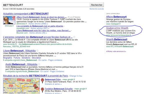 Bettencourt-adwords
