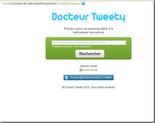Docteur Tweety