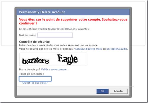 suppression facebook verification identité
