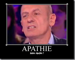 salaire apathie