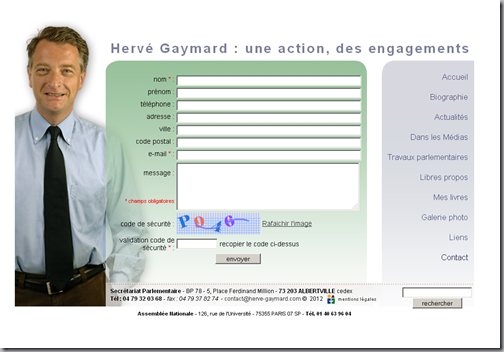 contact hervé gaymard