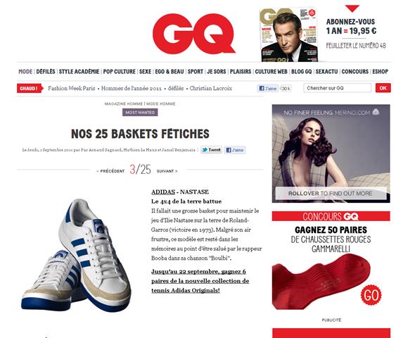 Google est nul: l exemple Adidas Nastase