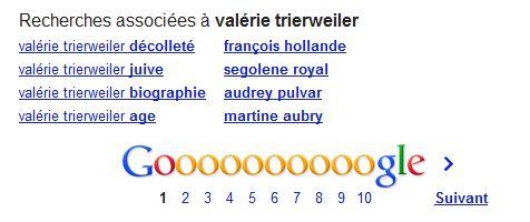 Recherche google valerie trierweiler