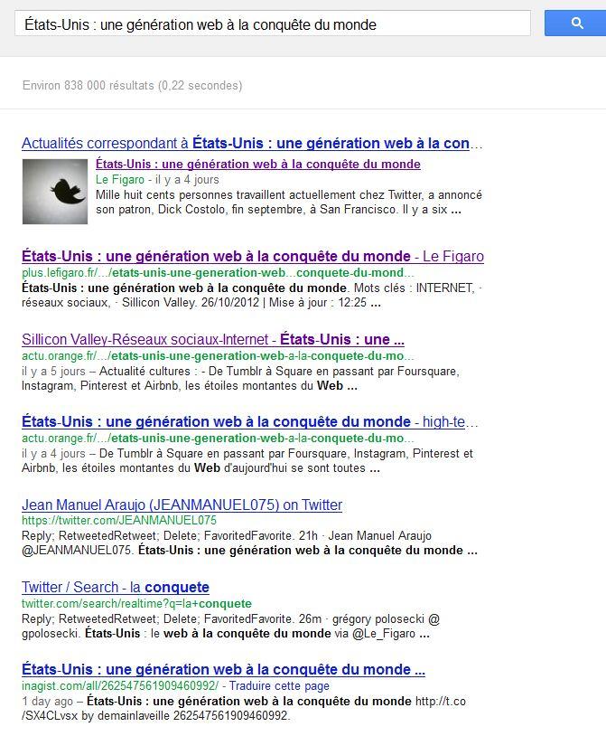 Google figaro