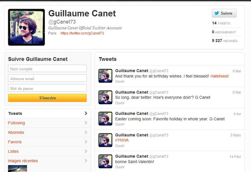 Twitter canet