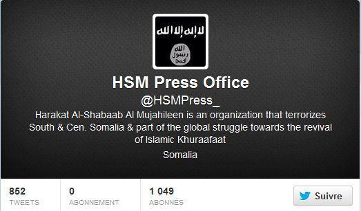 Nouveau compte twitter shebabs somaliens