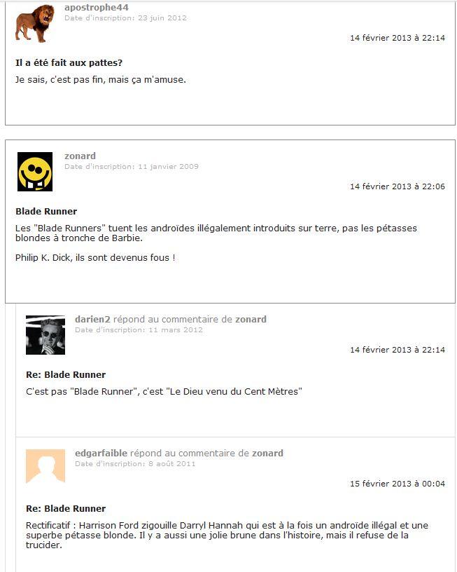 Pistorius commentaires