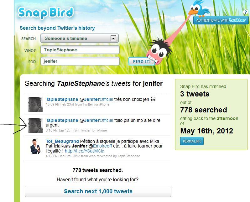 Twitter stephane tapie