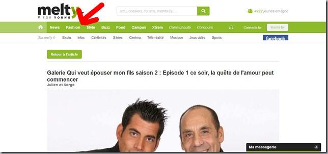 Julien et Serge - galerie article de Qui veut épouser mon fils saison 2 - Episode 1 ce soir, la quête de l'amour peut commencer - melty.fr