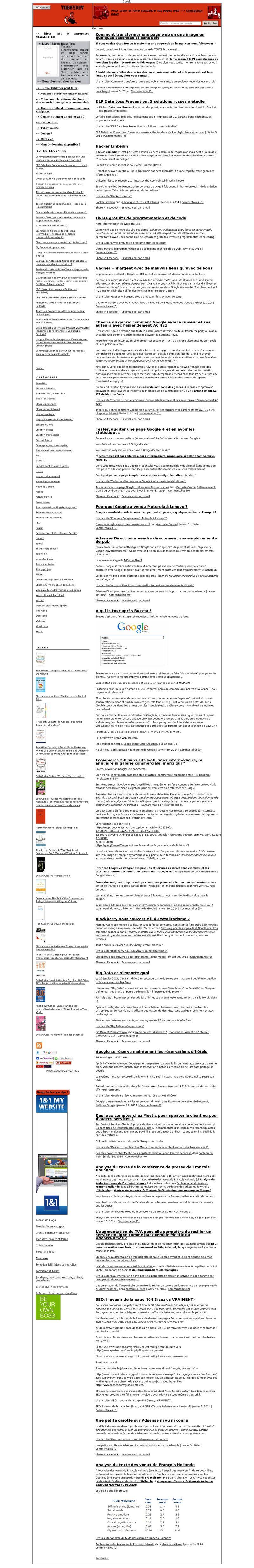 Capture page web