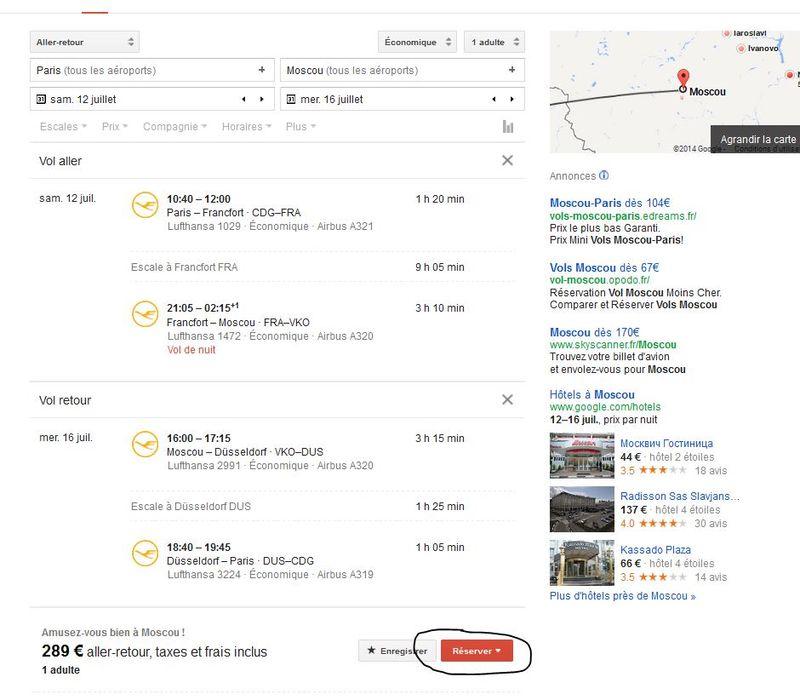 Google flights 5