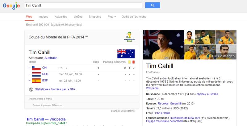 Joueur de foot australien Google