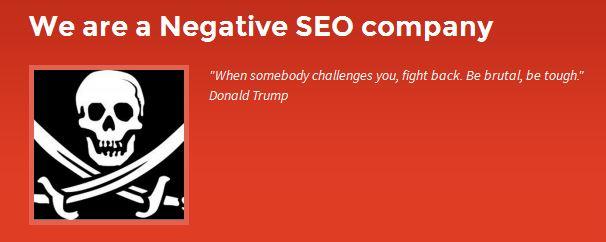 Negative seo company