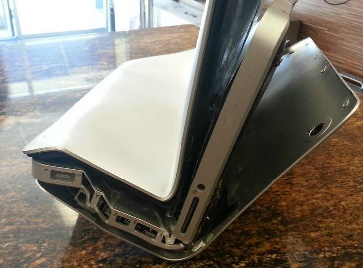 Mac book pro dans la poche