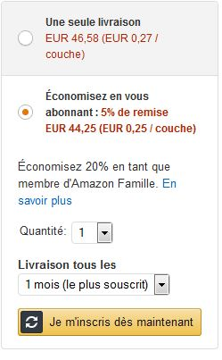 Abonnement amazon