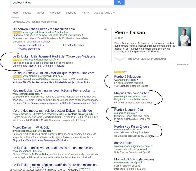 Dukan adwords