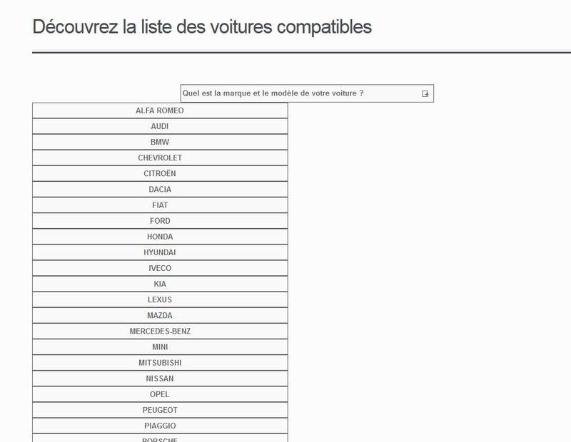 Menu catégories wordpress ecommerce