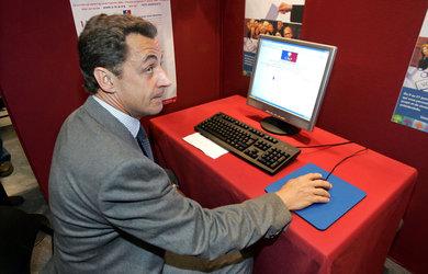 Sarkozy sur Google