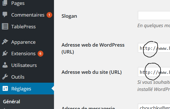 Https sur wordpress