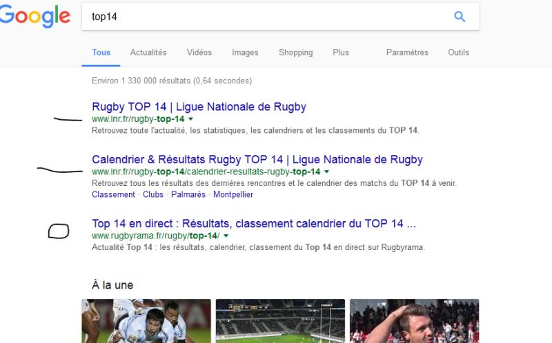 Top14 google
