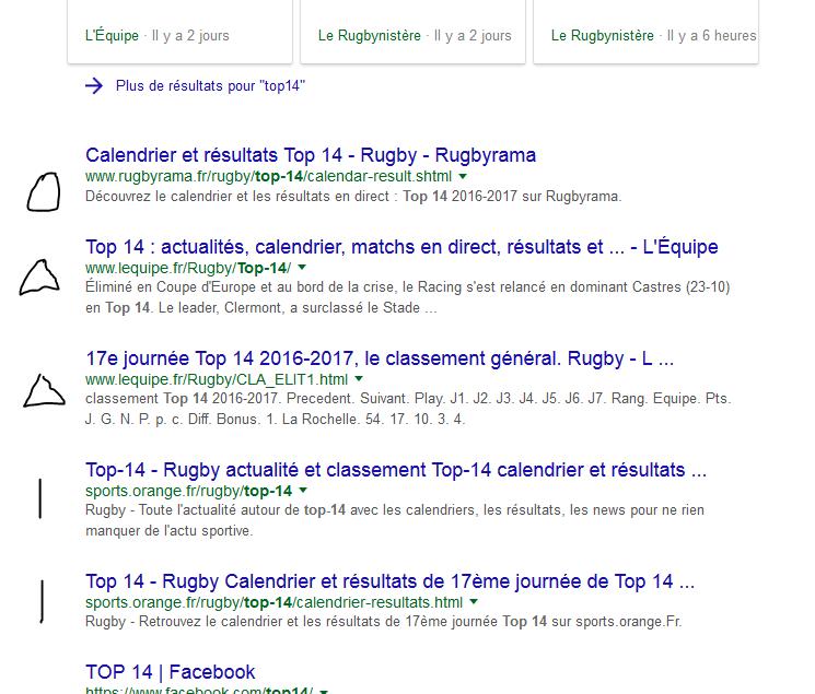 Serp google top14