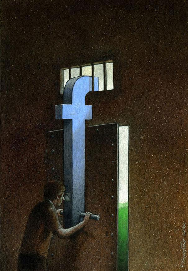 Notre-monde-ne-tourne-plus-rond-des-illustrations-satiriques-denoncent-les-horreurs-de-la-societe-actuelle3