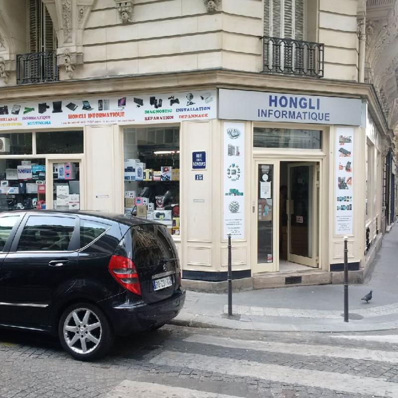 Hongli informatique rue des acacias Paris