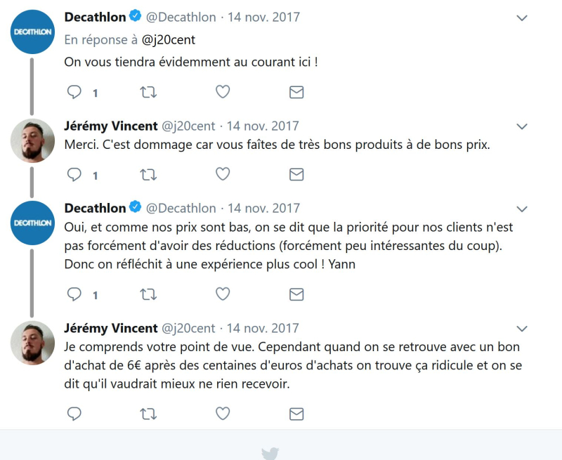 Twitter decathlon 2