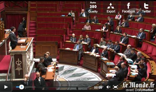Assemblée générale vide pour loi surveillance