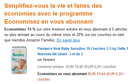 Couches amazon famille