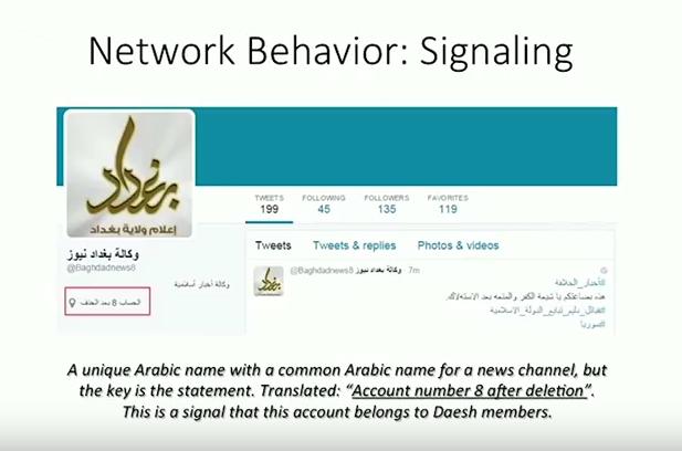 Daesh trompe twitter