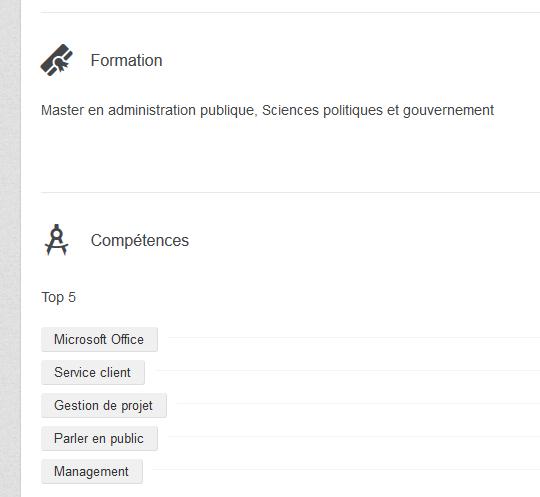 Profil linkedin 3