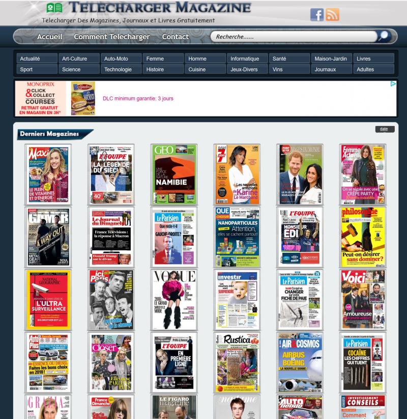 Telecharger presse medias journaux magazines gratuitement
