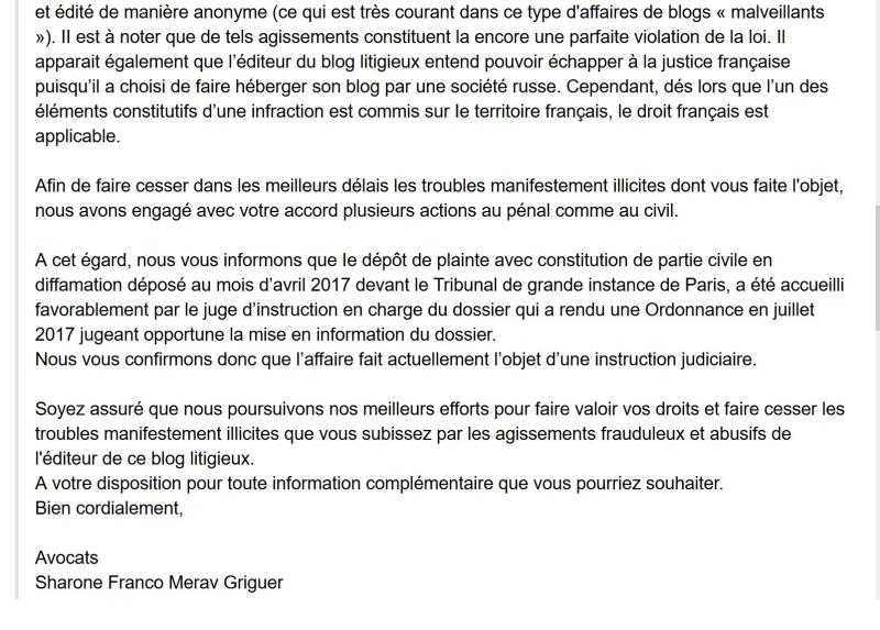 Yves hamelin syndic avenir Neuilly sur Seine