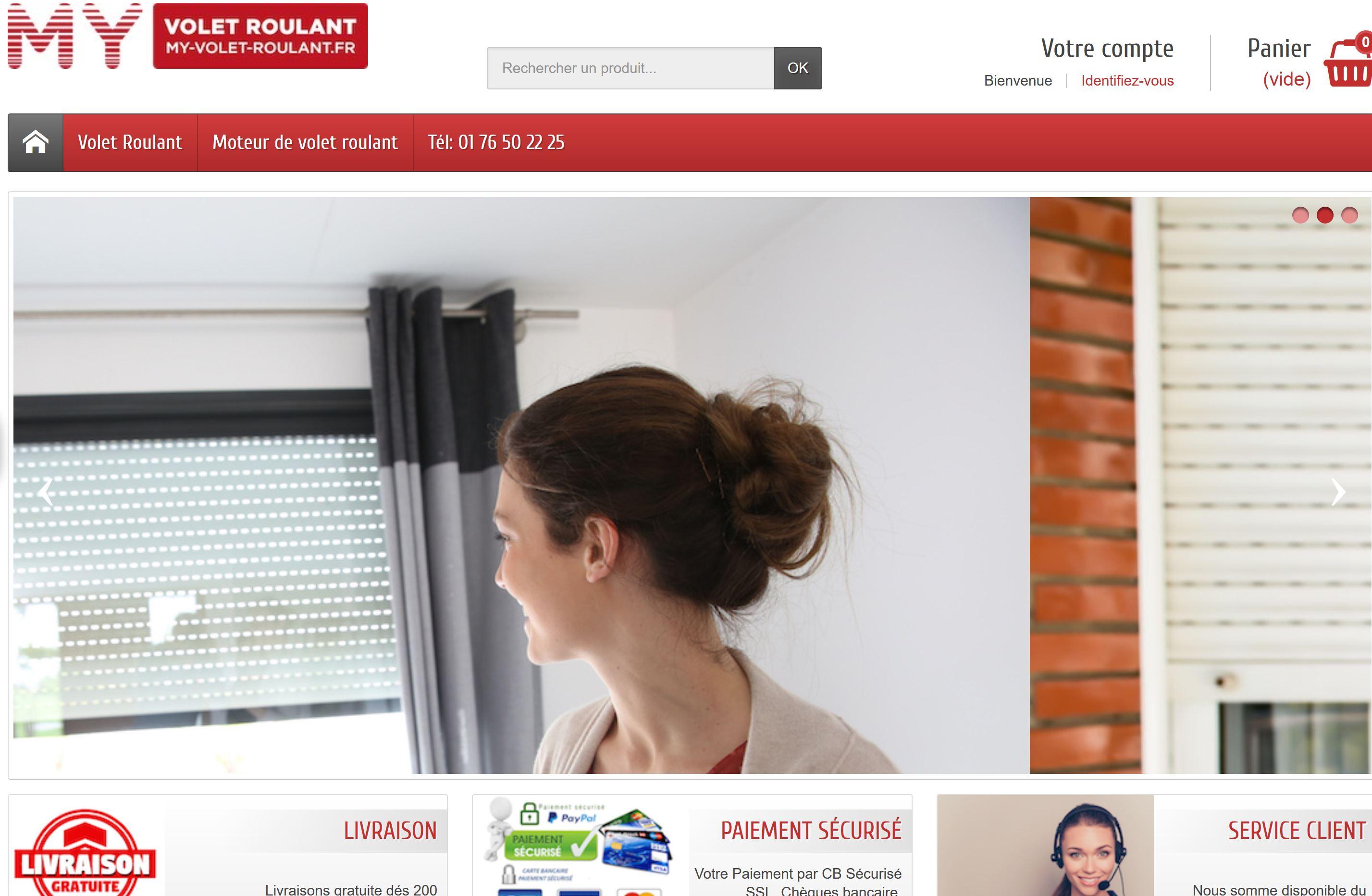Site Prestashop Pour Artisan Avec Etablissement De Devis Et Configurateur Un Exemple Pour Des Volets Roulants