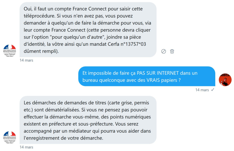 France connect carte grise