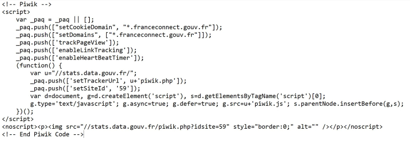 Code france connect