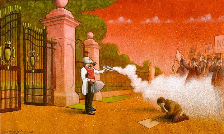 Le-monde-ne-tourne-plus-rond-des-illustrations-satiriques-poignantes-denoncent-les-horreurs-de-notre-societe35